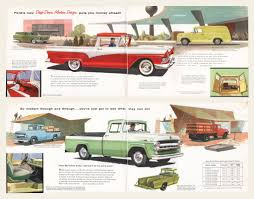 100 Ford Trucks Through The Years 1957 Brochure OldCuts