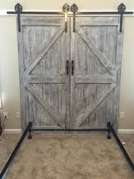 Cheaper And Better: DIY Barn Door Headboard And Faux Barn Door ... Bedroom Good Looking Diy Barn Door Headboard Image Of At Plans Headboards 40 Cheap And Easy Ideas I Heart Make My Refurbished Barn Door Headboard Interior Doors Fabulous Zoom As Wells Full Rustic Diy Best On Board Pallet And Amazing Cottage With Cre8tive Designs Inc Fniture All Modern House Design Boy Cheaper Better Faux Window Covers Youtube For Windows