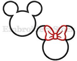 Mickey Mouse Pumpkin Designs by Minnie Mouse Applique And Mickey Mouse Applique Machine