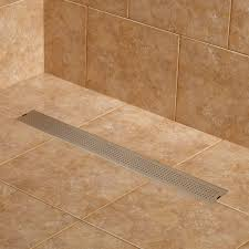Unclogging A Bathtub Drain With A Snake by Reid Stainless Steel Linear Shower Drain Bathroom