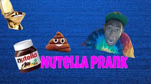 nutella prank bathroom prank gone wrong youtube