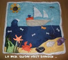 tapis d eveil couture tapis d éveil la mer tout est bon dans la création