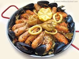 comment cuisiner des moules congel s paëlla la recette illustrée le plat espagnol meilleurduchef com