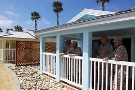 San ofre Beach Cottages dedicated at Pendleton Marine Corps
