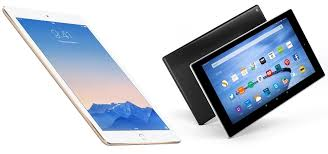 Tablet shootout iPad Air 2 vs Fire 10 HD