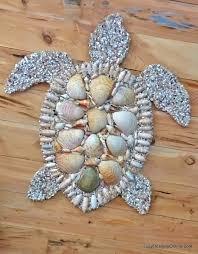Seashell Christmas Tree Ornaments by Sea Shell Sea Horse Wall Art Decor Abalone By Carmelascoastalcraft