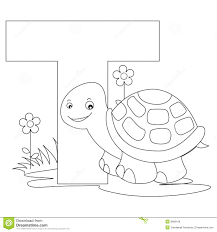 Animal Alphabet Coloring Pages Free 4