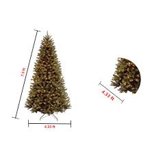 Dunhill Christmas Trees by Amazon Com National Tree 7 5 Foot North Valley Spruce Tree With