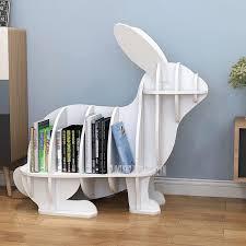 einfache kreative kleine kinder bücherregal mit rad leicht zu bewegen schlafzimmer wohnzimmer ecke kinder buch regal schrank