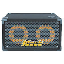 Fender 2x10 Guitar Cabinet by Markbass Traveler 102p Rear Ported Compact 2x10 Bass Speaker