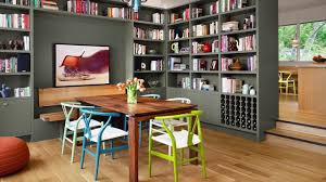 Awesome Dining Room And Home Library Combos That Rock