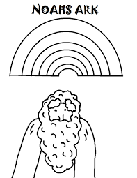 Noahs Ark Coloring Page Printable Version