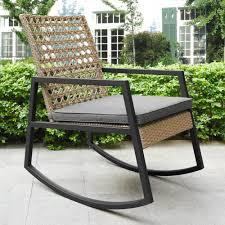 Ivy Bronx Shifflett Modern Patio Rocking Chair With Cushion | Wayfair Zero Gravity Folding Rocker Porch Rocking Chair Chairs 10 Best 2019 Brackenstyle Premier Grade A Teak Wooden Outdoor Shop Colonial Cherry Finish 28w X 36d 445h Venture Forward With Removable Pad Bluegray Gander How To Draw Plans Diy Free Download Cedar Trellis Minimal Style Convient Cozy Upholstered Beige Mhc Living Best Rocking Chairs The Ipdent Charleston Acacia Ercol Originals Chairmakers Heals