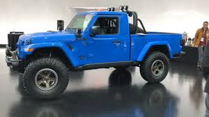 100 4 Door Jeep Truck Easter Safari 2019 6 Pickup Concepts Will Be In Moab