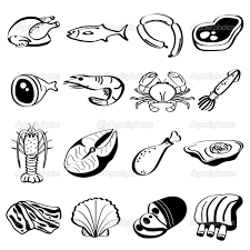 Meat Group Coloring Pages