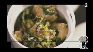 telematin recettes cuisine replay télématin télématin gourmand blanquette de veau