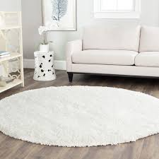 Full Size Of Area Rugswonderful Round White Shag Rug Best Decor Things Orange Large