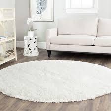 Full Size Of Area Rugswonderful Round White Shag Rug Best Decor Things Orange Large