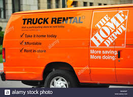 A Home Depot Rental Truck In London, Ontario In Canada Stock Photo ...