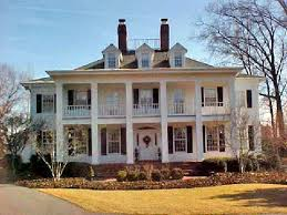 Southern Colonial Homes by Custom Built Homes Alexandria George A M Brown Construction