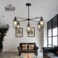 wrought iron pendant lights vintage industrial lighting office