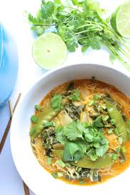 Thai Pumpkin Curry Soup Recipe by Coconut Green Curry Noodle Soup Pumpkinandpeanutbutter