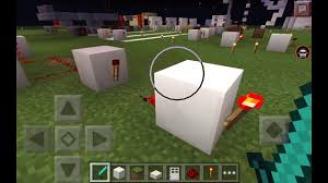 Flashing Redstone Lamp Minecraft by How To Make A Flashing Redstone Light On Minecraft Pocket Edition