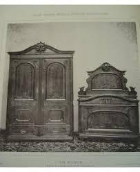 möbelentwurf schlafzimmer historismus 2 barock möbel johann wanke wien 1894