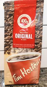 Tim Hortons Pumpkin Spice Latte Calories by Tim Horton U0027s Original Blend Fine Ground Coffee Review U2013 Canada