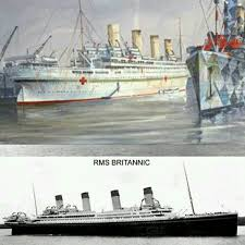 Sinking Of The Britannic Youtube by Here We Can See The Change That Took The Hmhs Britannic Before The