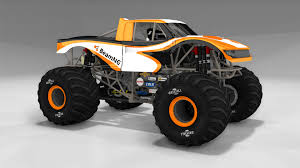 100 Biggest Monster Truck WIP Beta Released Revamped CRD BeamNG