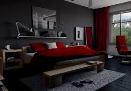 wow red black and grey bedroom 65 for your home interior design