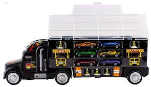 100 Matchbox Car Carrier Truck Kiding Transport Rier Toy For Boys And Girls Includes 6