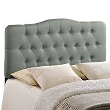 Amazon Upholstered King Headboard by Amazon Com Modway Annabel Upholstered Tufted Button Fabric
