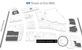 Click For Interactive CF Shops At Don Mills Floor Plannbsp