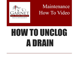 Unclogging A Bathtub Drain Video by Video Library Garnet Real Estate Services