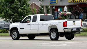 100 2010 Chevy Truck Silverado Heavy Duty Spied With Front End Changes