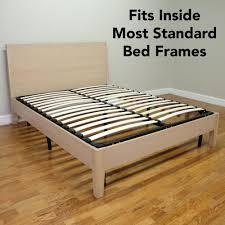 Platform Bed Frame Walmart by Bed Frame Queen Wood U2013 Bare Look