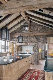 Mountain Kitchen Interior Landhausstil Küche Top 60 Best Log Cabin Interior Design Ideas Mountain