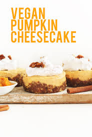 Pumpkin Desserts Easy Healthy by Vegan Pumpkin Cheesecake Minimalist Baker Recipes