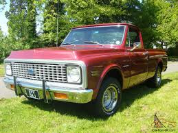 100 1971 Chevrolet Truck CHEVROLET C10 SHORT BED PICKUP TRUCK