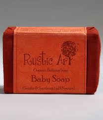 Rustic Art Baby Soap 100gm Keep Skin Soft And Smooth