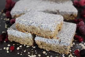 veganer fitness quark mohn kuchen unser pflänzchen