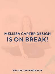 100 Carter Design Melissa Branding And Wordpress Web