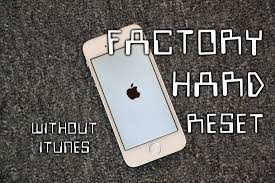 Tutorial] iPhone Factory Hard Reset Without iTunes All models