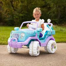 100 Kid Trax Fire Truck Battery Trax Disney Frozen 4x4 6v Electric Ride On Powered