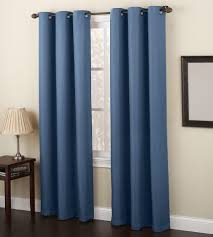 Sears White Blackout Curtains by Colormate Summit Print Window Panel Sears
