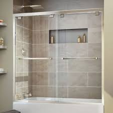 Bathtub Splash Guard Glass by Shower U0026 Bathtub Doors You U0027ll Love Wayfair