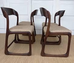 chaise traineau baumann les rois du bois mobilier design et vintage marseille