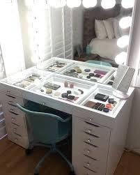 Desk Diy Makeup Vanity Table With Lights Diy Makeup Desk With